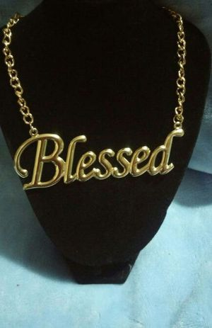 Gold Accessorie Necklace for Sale in West Palm Beach, FL
