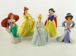 "Disney Princess - Belle / Ariel / Jasmine / Cinderella / Snow White 6"" Porcelain for Sale in Carrollton, TX"