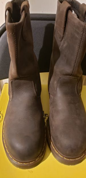Dr marten steel toe work boots for Sale in Houston, TX