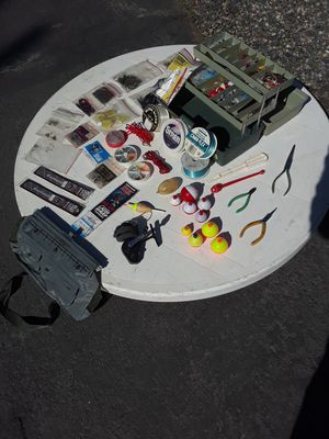 Freshwater Fishing Original Mitchell Garcia #320 Reel/Fishing Tackle/Creel/Tackle Box for Sale in Lake Elsinore, CA