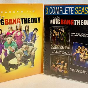 The Big Bang Theory Seasons 1-8 DVD Set Brand New Factory Sealed for Sale in Puyallup, WA