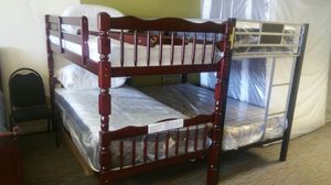 SOLID WOOD BUNK BEDS FOR UNBEATABLE PRICE for Sale in Nashville, TN