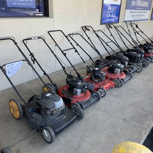 Various Lawn Mowers (Not Working For Parts) for Sale in San Antonio, TX