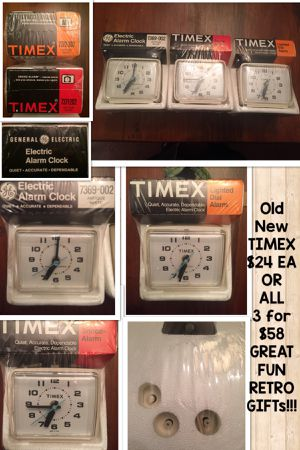 SALE🎉TIMEX elec alarm clocks - price is per clock for Sale in Pittsburgh, PA