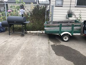 3X6 Utility Trailer for Sale in Portland, OR
