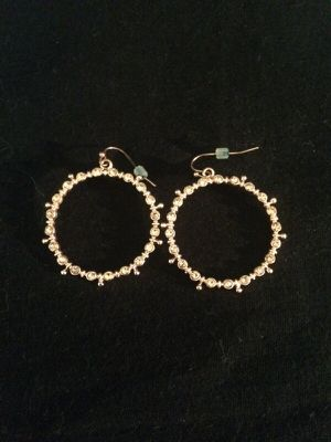 Charming Charlie Rose gold finish earrings for Sale in Portland, OR