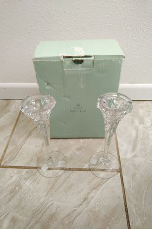 partylite candle crystal taper holder for Sale in Oxnard, CA