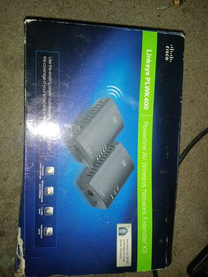 Linksy PLWK400. Powerline AV wireless network extender kit for Sale in Seattle, WA