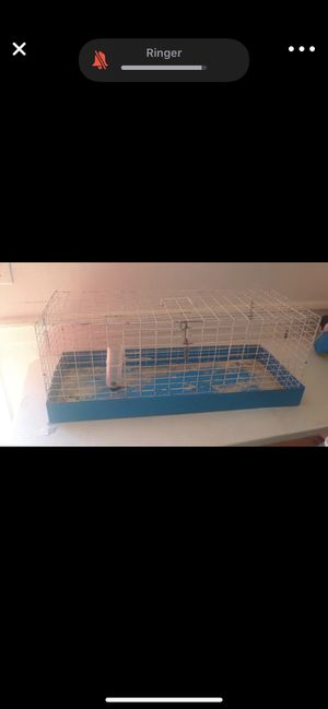Hamster or Guinea pig (big cage ) for Sale in Selma, CA