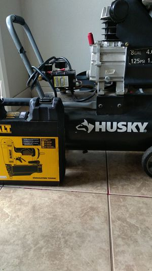 Air compressor and Nail gun for Sale in Fresno, CA