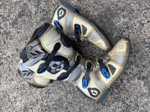 Six One Motocross Flight Boots (Size 12) for Sale in Middlesex, NJ