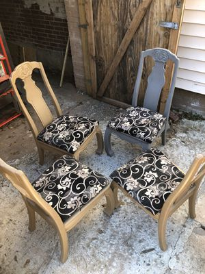 antique dinner chairs for Sale in Atlanta, GA