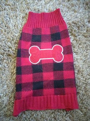 Dog sweater size small for Sale in Costa Mesa, CA