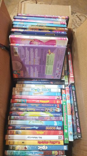 Big Box of Children's DVDs: Shrek, Dora, Madagascar, Kung Fu Panda & More for Sale in Laveen Village, AZ