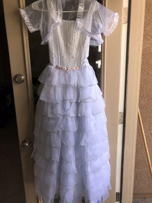 $25 Girls 1st communion/Baptism white dress for Sale in Gilbert, AZ