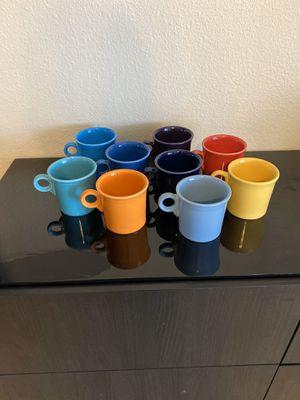 Fiesta Mugs (9) for Sale in Phoenix, AZ