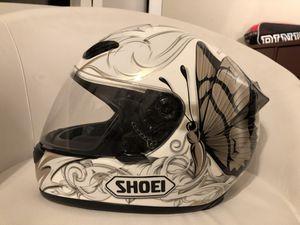 SHOIE RF1000 FLUTTER BUTTERFLY MOTORCYCLE HELMET - SMALL for Sale in Jacksonville, FL