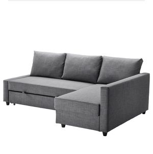 Ikea Sectional Sleeper Couch with Storage for Sale in Jersey City, NJ