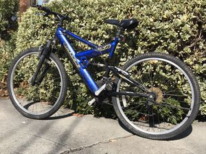 """Mongoose MGX 26"""" 21 speed full suspension mountain bike for Sale in Mountain View, CA"""
