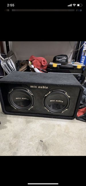 Mtx subwoofers for Sale in Henderson, NV