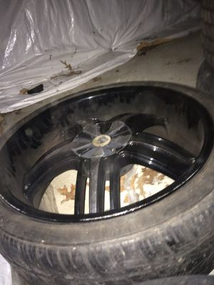 2006-2010 Dode Charger rim with tires (Full set) size:22 for Sale in Millersville, MD