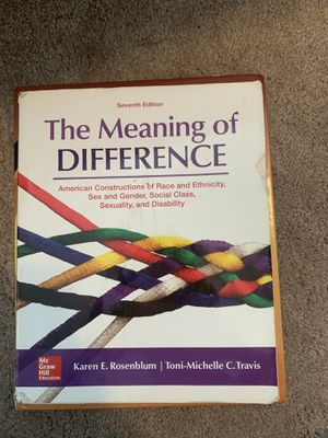 The Meaning of Difference, book for Sale in Auburn, WA