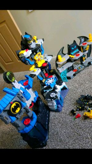 Imaginext batman playsets for Sale in Medina, OH