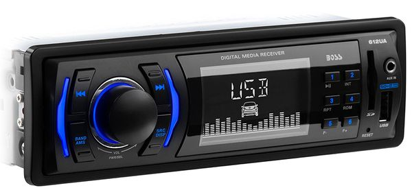 Boss single din radio with usb port for $30 Brand new in the box with warranty