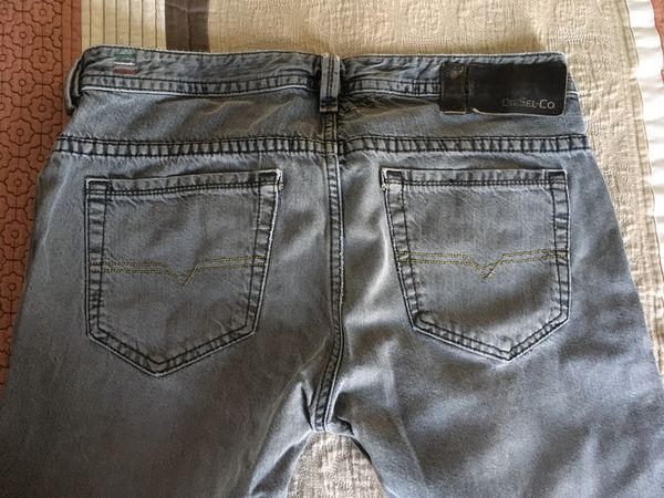 Rare Diesel Thavar 0807C Slim Skinny Jeans Tailored W34x30