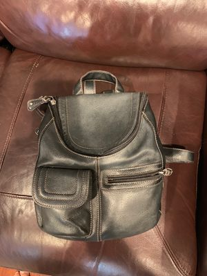 Black backpack style purse, lightly used for Sale in La Mesa, CA
