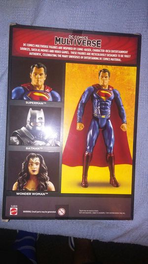 Superman action figure for Sale in Dallas, TX