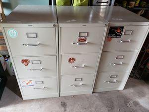 Storage / file cabinets three drawer for Sale in Hampton, VA