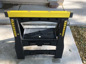 Sawhorses fully adjustable for Sale in Peoria, AZ