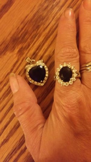 Matching Ring and Charm for Sale in Wichita, KS