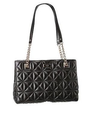 Kate Spade Gold Coast MaryAnne black quilted leather handbag for Sale in Atlanta, GA