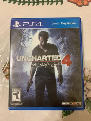 Uncharted 4: A Thief's End. PS4 for Sale in Takoma Park, MD