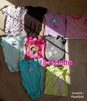 Baby clothes size 18 months for Sale in Wadsworth, OH