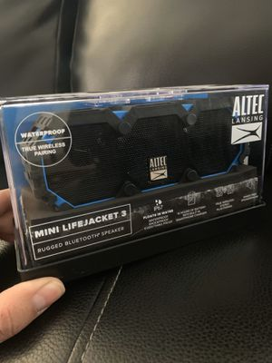 Altec Lansing Mini Life Jacket 3 Speaker for Sale in Rancho Cucamonga, CA