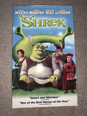 Shrek vhs for Sale in Hampton, VA