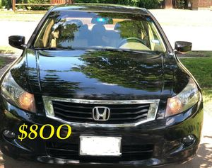 ✅✅$8OO URGENT I sell my family car 🔑🔑2OO9 Honda Accord EX-L Everything is working great! Runs great and fun to drive!!🟢🟢!!! for Sale in Arlington, VA