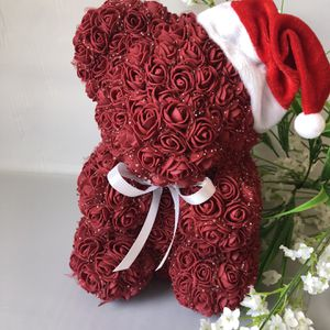 Foam Christmas Rose Bear Handmade By Me for Sale in Sacramento, CA