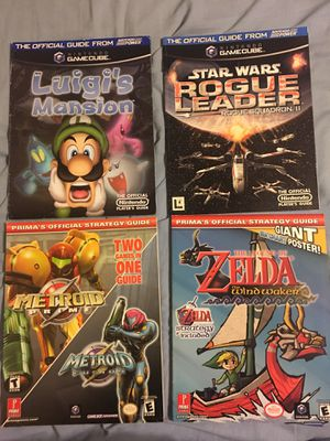 GameCube strategy guides for Sale in Glendale, CA