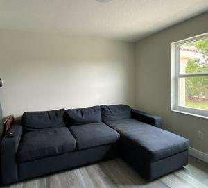 West Elm Urban Sleeper Sectional for Sale in Miramar, FL