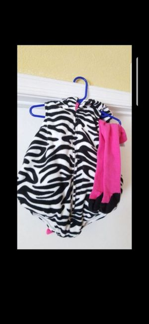 Baby Girl Zebra Costume for Sale in Avondale, AZ