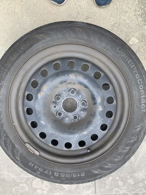 Steel rims and tires, they fit Honda accords for Sale in Queens, NY