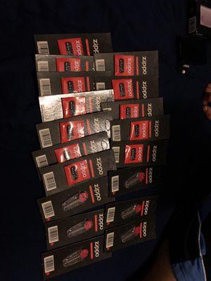 Zippo flint & wicks for Sale in New Haven, CT