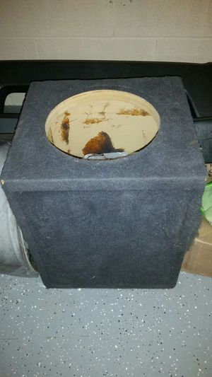 "12"" subwoofer box for Sale in Montgomery Village, MD"
