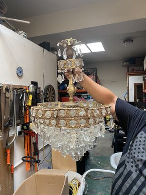 Antique Chandelier (silver) for Sale in San Diego, CA