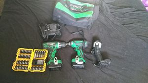Hitachi 12v drill/impact set for Sale in Fayetteville, AR