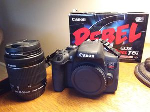 Canon t6i for Sale in Columbus, OH